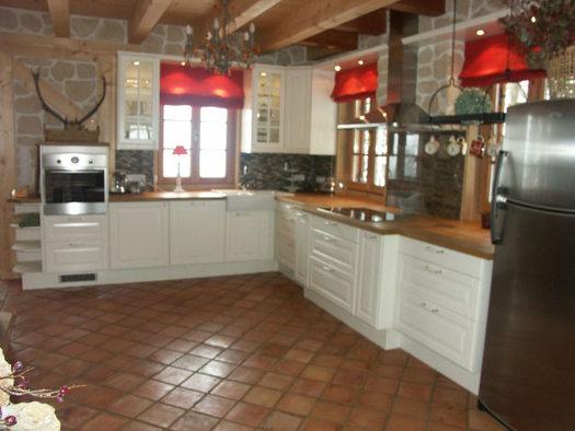 Küche im Wildrosenhaus