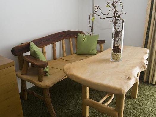 Wildholz Zimmer Sitzbank