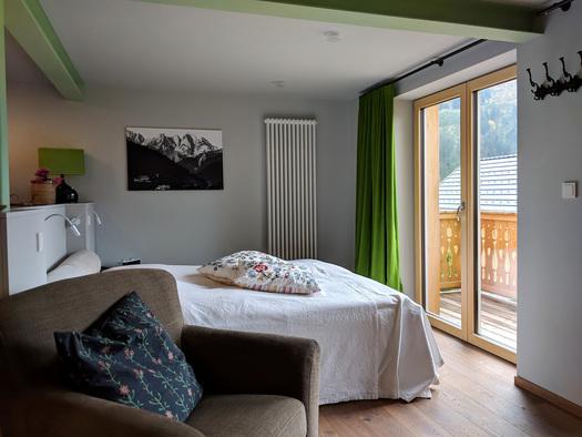 Wohnung Bergglück -Schlafen 1 (© dasGams)