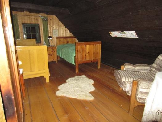 1 Schlafzimmer oben