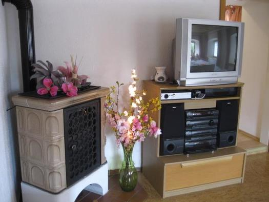 Fernsehecke mit Kamin