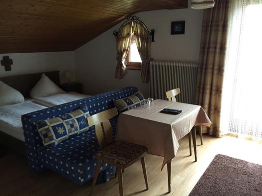 Doppelzimmer (© Tourismusverband MondSeeLand)