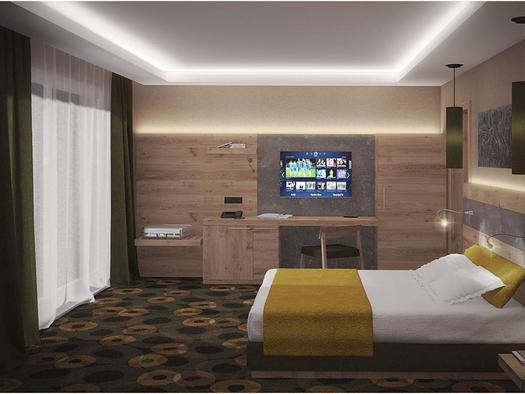 King-Size Doppelschlafzimmer