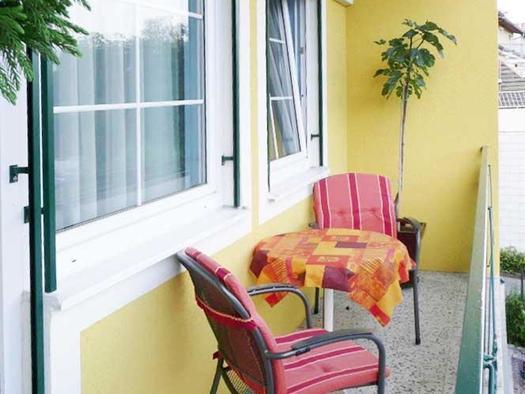 Balkon südseitig