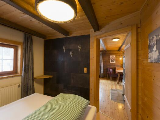 Almresort-Hütte Schlafzimmer