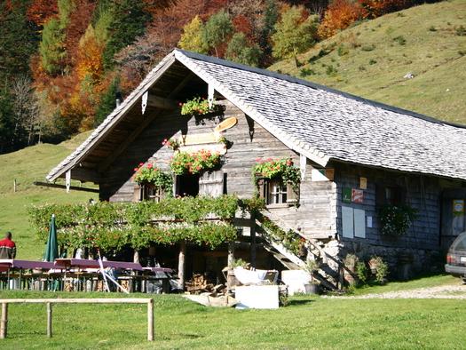Mayerlehenhütte auf der Gruberalm (© Tourismusverband Hintersee)