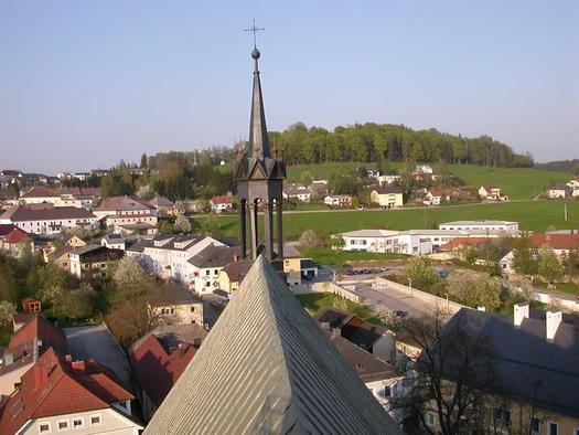 Ausblick vom Rohrbach Kirchturm