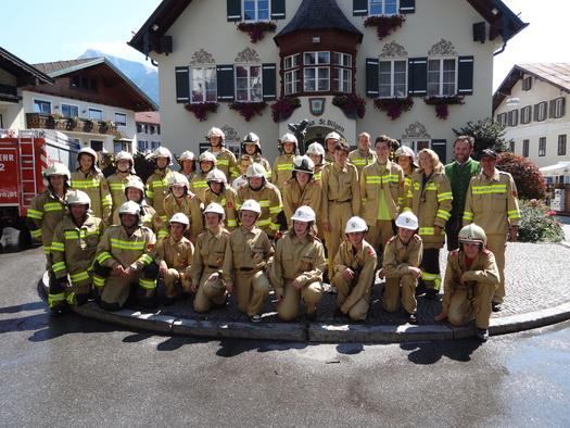 Feuerwehr St. Gilgen, Mannschaft. (© TVB)