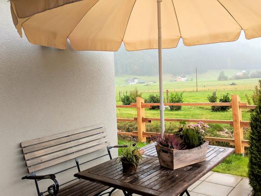 Wohnung Bachrauschen - Terrasse (© dasGams)