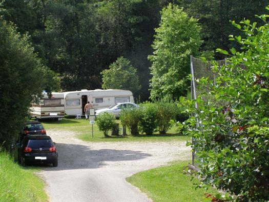 Camping an der Großen Mühl (© Privat)