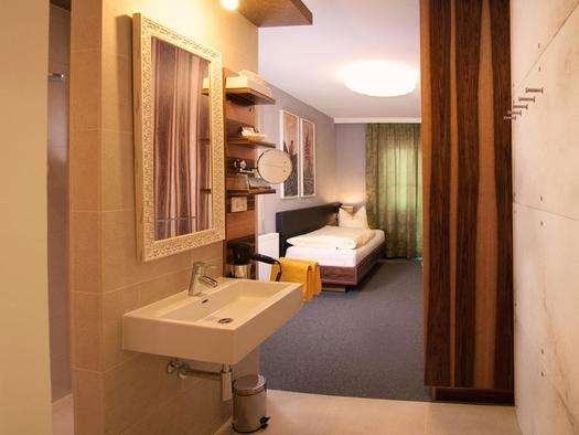Einzelzimmer Hotel Blumauer