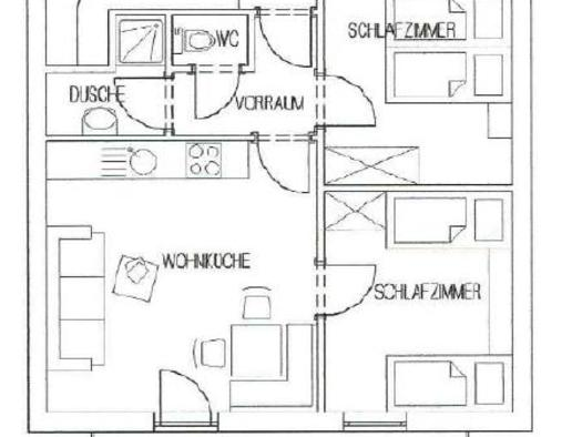 Apartment 3 Plan. (© Gudrun Loindl)