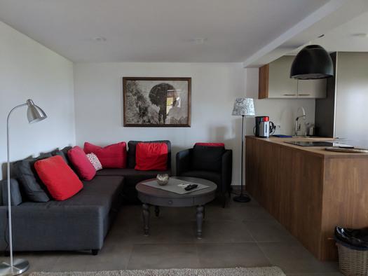 Wohnung Bachrauschen - Wohnbereich (© dasGams)
