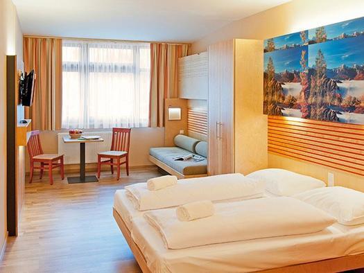 Zimmer JUFA Hotel Almtal (© JUFA Hotel Almtal (©-Heinz Hudelist))
