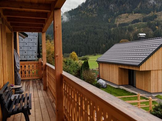 Wohnung Bergglück - Südostbalkon (© dasGams)
