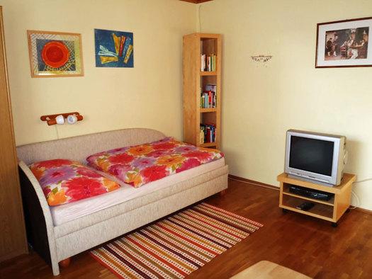 Wohnzimmer Ausziehcouch