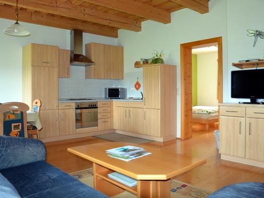 Wohnküche Ferienwohnung Apfelbaum (© Jung)