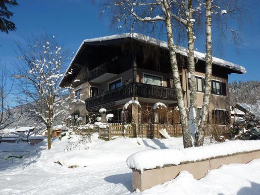 Hinterer Apartmenthaus Größe Ferienwohnungen mit 4 Edelweiß.