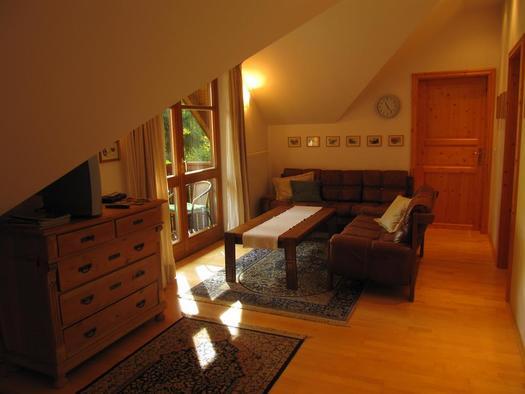 Wohnzimmer (© Landhaus – Huhle)