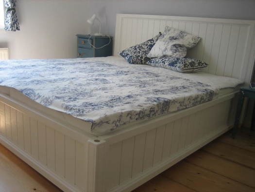 Fewo Tiesler Schlafzimmer klein. (© Familie Tiesler)