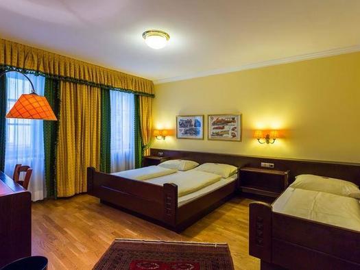 Dreibettzimmer Gösserbräu
