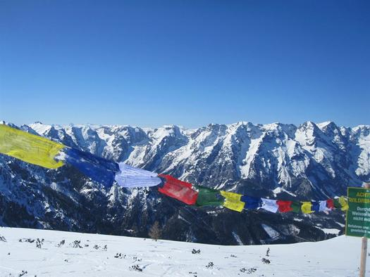 Auf 2000 m (© Leslie Sedlak)