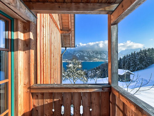 Balkon mit Seeblick \