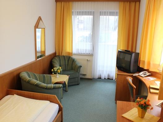 Einzelzimmer Hotel Lohninger-Schober. (© Hotel Lohninger-Schober)