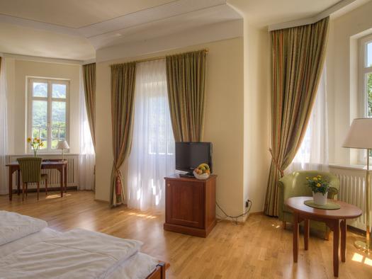 Doppelzimmer Villa Billroth. (© Schachl)