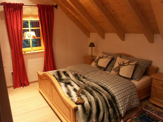 Schlafzimmer im Wildrosenhaus