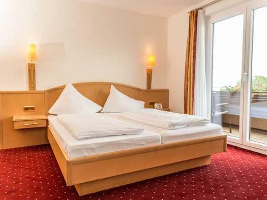 Familienzimmer Doppelbett (© Hotel Haberl)