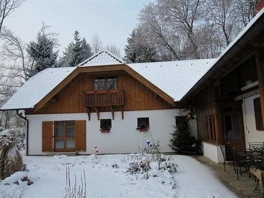 Landhaus  Winter