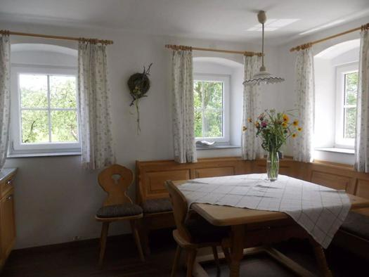 Gemütliche Essecke (© Ferienhaus Hochgattern)