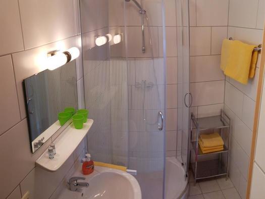 Dusche /WC (© Ferienwohnungen Schiemel)