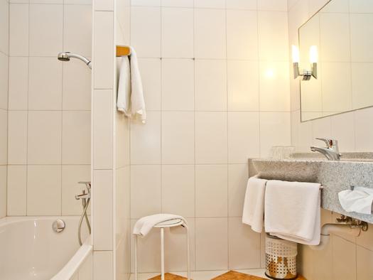 Appartement Hotel Bramosen Badezimmer (© Hotel Bramosen)