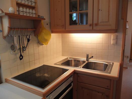 Küche (© Ferienhaus in der Schlipfing)