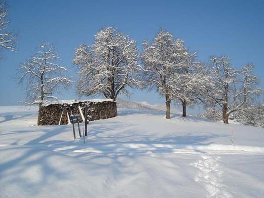 Winterromanze im Winterurlaub