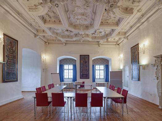 Schloss Weinberg, Ahnensaal. (© Schloss Weinberg / Kurt Hörbst)