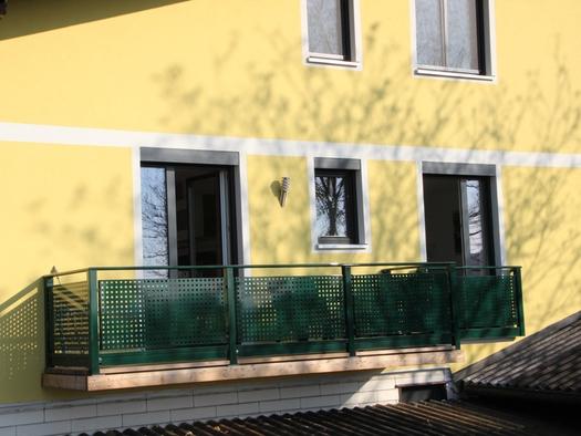 Ferienwohnung nahe dem Attersee mit Balkon. (© Andreas Hemetsberger)