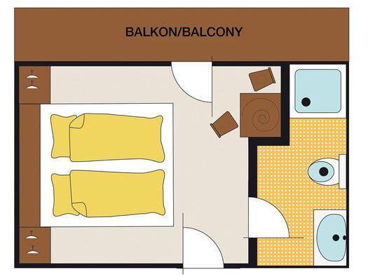 Doppelzimmer Ellmaustein