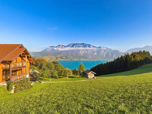 Ferienwohnung mit Blick zum Attersee (© Andreas Graf)