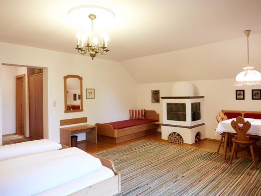Beispielbild Hotel Föttinger 3 Bettzimmer Hotel in Steinbach am Attersee. (© Gasthof Föttinger)