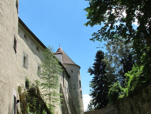 Schloss Weinberg, Burggraben. (© Schloss Weinberg / Miriam Kickinger)