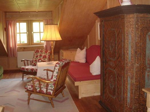 Suite mit Balkon (© Almtalhof)