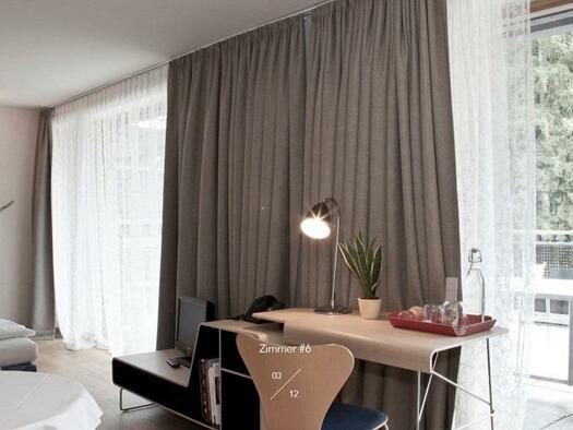 Doppelzimmer mit Terrasse (© Hotel-Restaurant Mühltalhof)