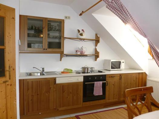 Küche XXXL Apartment Heustube (© berger)