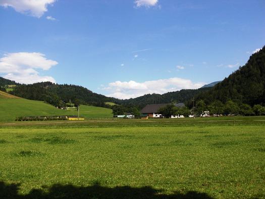 Ausblick von Ferienwohnung Sommerwiese