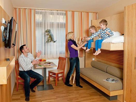 Familienzimmer JUFA Hotel Almtal (© JUFA Hote Almtal (©-Heinz Hudelist))