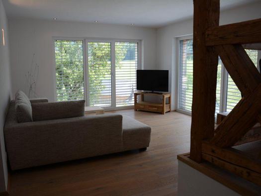 Living area (© Bramsauerhof Faistenau)