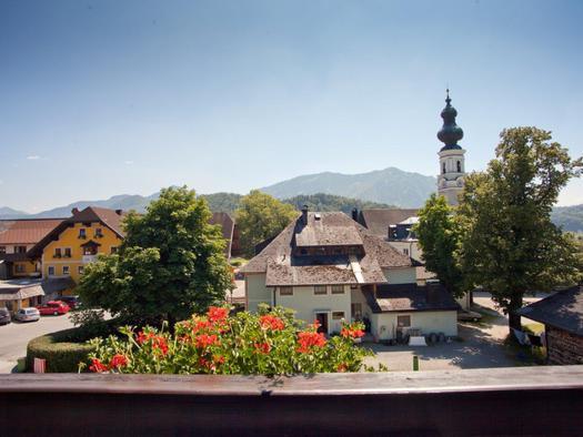 Ausblick Dorfplatz